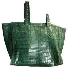 Ana Switzerland Crocodile tote bag . Soft light as garments