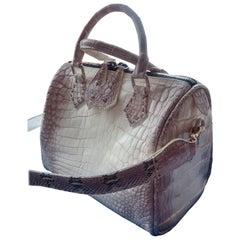 Ana Switzerland Crocodile duffel bag .