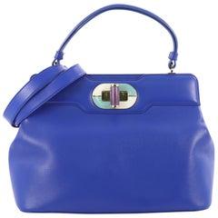 Bvlgari Isabella Rossellini Bag Leather Medium