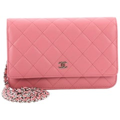 Chanel Wallet on Chain Quilted Lambskin
