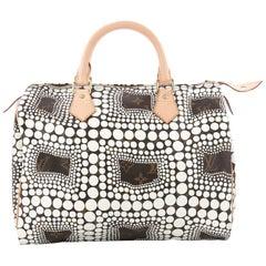 Louis Vuitton Speedy Handbag Limited Edition Monogram Canvas Kusama Town 30