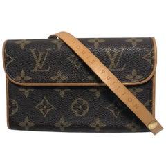 Louis Vuitton Monogram Pochette Florentine Bum XS Belt Bag Crossbody