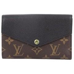 Louis Vuitton Pallas Compact Wallet Monogram Canvas and Calf Leather