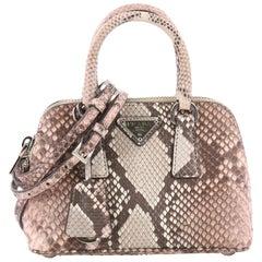 Prada Promenade Handbag Python Mini