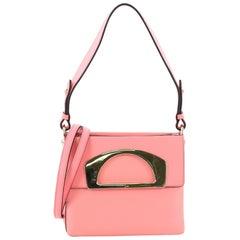 Christian Louboutin Passage Convertible Messenger Bag Leather Mini