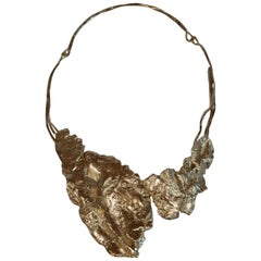 Ambre et Louise Pale Gold Fragment necklace