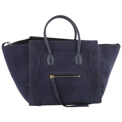 Celine Phantom Handbag Nubuck Medium