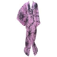 Fausto Puglisi Pink Yukata Kimono Limited Edition Of  Only 50 Pieces  NEW