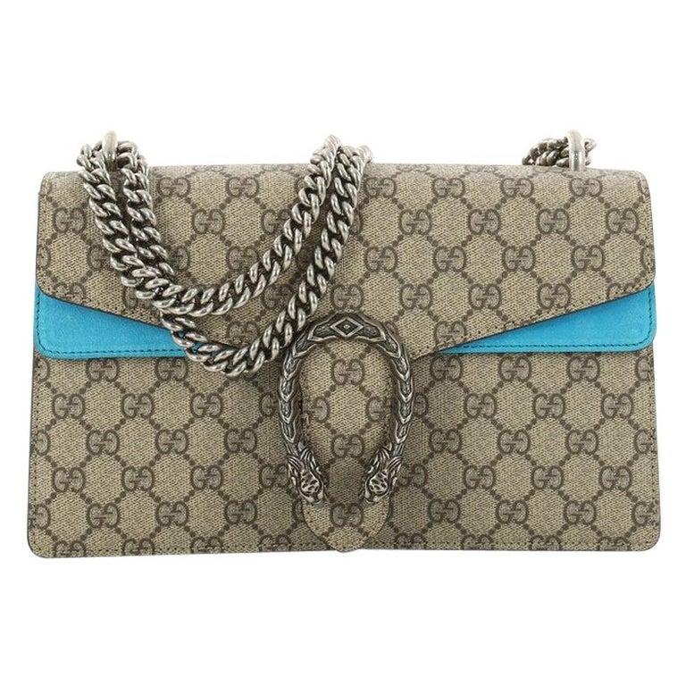 c54e53646cc7c2 Gucci Dionysus Handbag GG Coated Canvas Small at 1stdibs