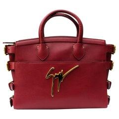 Giuseppe Zanotti Red Leather Bag