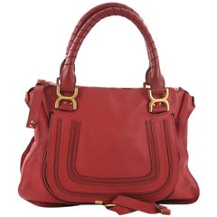 Chloe Marcie Shoulder Bag Leather Medium