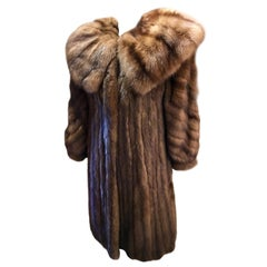 World's Finest Russian Barguzin Imperial Sable Fur Coat - Fit for Royalty