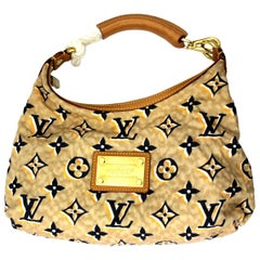 2009 Louis Vuitton Limited Edition Navy Nylon PM Bag