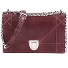 Christian Dior Diorama Flap Bag Grained Calfskin Medium
