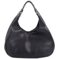 Bottega Veneta Campana Hobo Leather Small