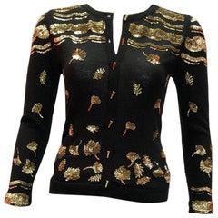 Prabal Gurung Sequin Cardigan