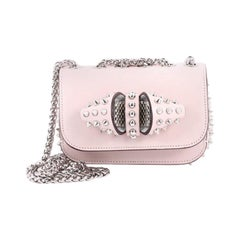 Christian Louboutin Sweet Charity Crossbody Bag Spiked Leather Baby