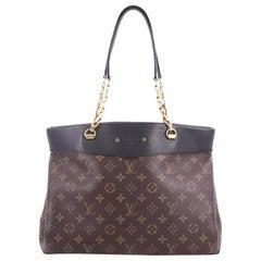 Louis Vuitton Pallas Shopper Monogram Canvas and Calf Leather