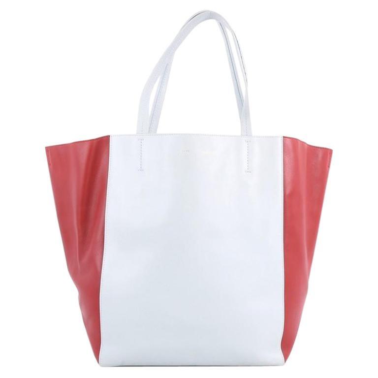 Celine Bicolor Phantom Cabas Tote Leather Medium