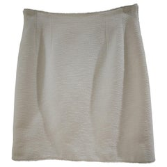 Chanel Boutique Cotton Skirt
