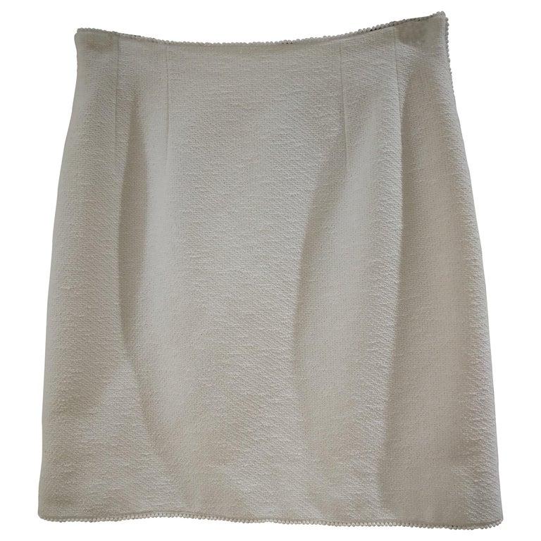 Chanel Boutique Cotton Skirt