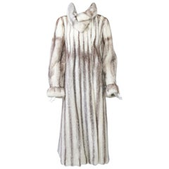 Tipped Light Mink Coat
