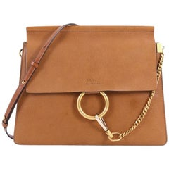 Chloe Faye Shoulder Bag Leather Medium