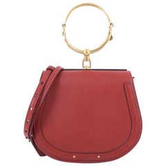 Chloe Nile Crossbody Bag Leather Medium