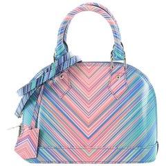 Louis Vuitton Alma Handbag Limited Edition Tropical Epi Leather BB