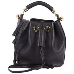 Chloe Gala Bucket Bag Leather Small