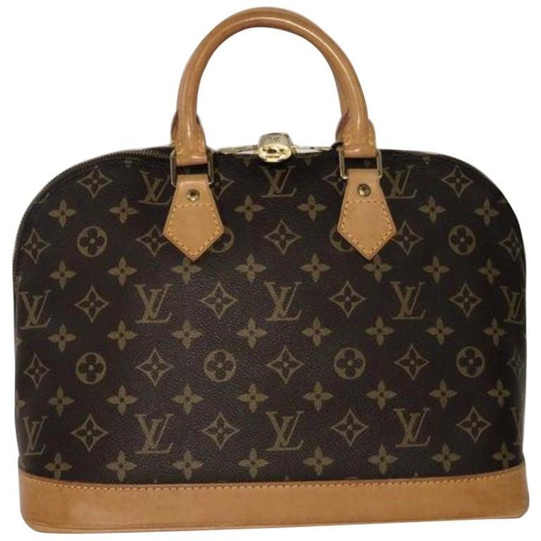 Louis Vuitton Monogram Alma PM Satchel Handbag
