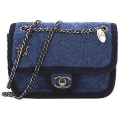 Chanel Paris-Salzburg Flap Bag Quilted Wool Mini