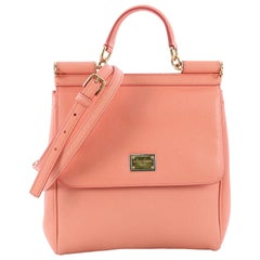 Dolce & Gabbana Miss Sicily Handbag Leather North South