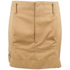 COMME des GARCONS Size M Beige Mini Skirt