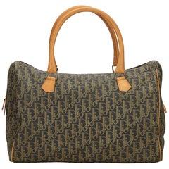 Dior Brown Oblique Boston Bag