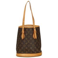 Louis Vuitton Brown Monogram Petit Bucket