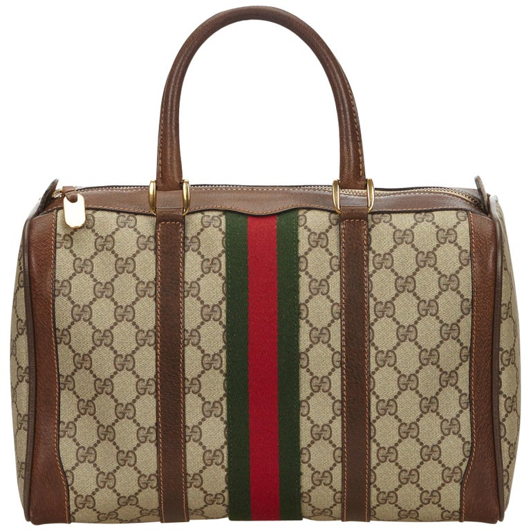 63cb9d9e89f8 Yükle (768x768)Gucci Brown Guccissima Web Boston Bag For Sale at 1stdibs Gucci Brown Guccissima Web Boston Bag.
