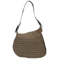 FENDI Bag in Brown Monogram Canvas