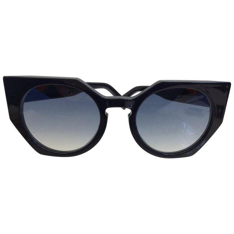 Fendi Navy Blue Sunglasses