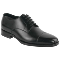 Tom Ford Men's Black Wessex Leather Derby Luxury Shoes