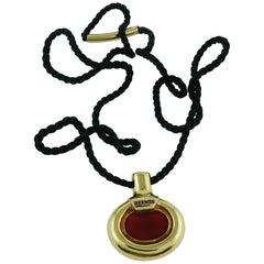 Hermes Vintage Bottle Pendant Necklace