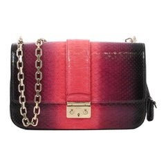 Christian Dior Miss Dior Flap Bag Ombre Python Medium