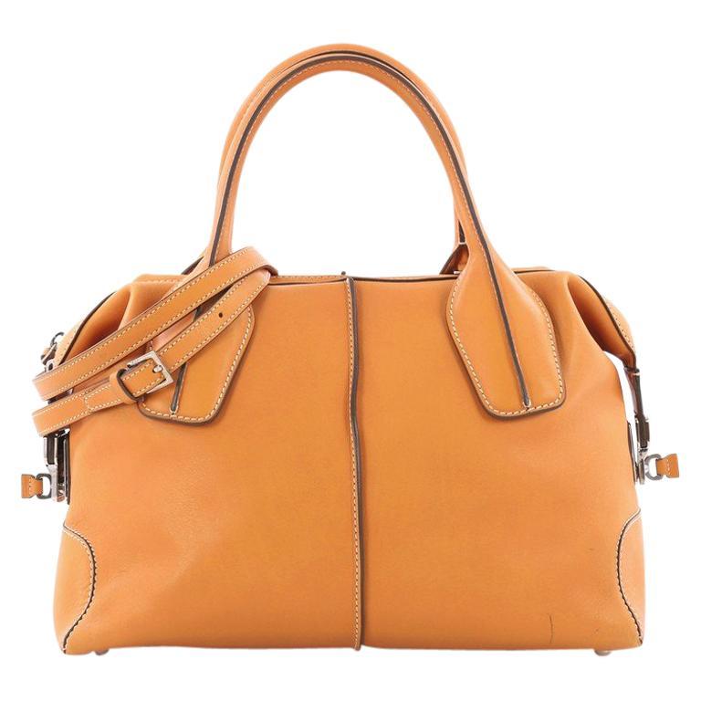 Tod's D-Styling Convertible Bauletto Handbag Leather Medium
