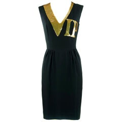 Vintage Moschino VIP Sequin Dress - Size XS
