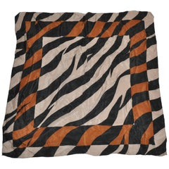 """Out-Of-The-Box """"Leopard"""" Silk Scarf"""