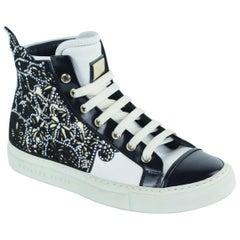 Philipp Plein Womens Embellished Dalila High Top Sneakers