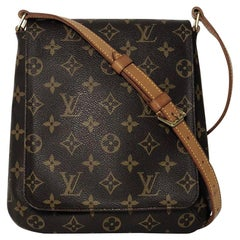 Louis Vuitton Monogram Musette Salsa Short Strap PM Shoulder Handbag