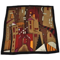"Peinoy d'Urwilly Bold Multi-Color ""City of Stars"" Scarf"