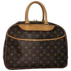 Louis Vuitton Monogram Deauville Satchel Handbag