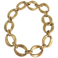 Chanel Vintage Gold Chain Necklace